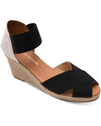 Andre Assous - Erika Wedge Sandals - Lyst
