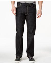 Sean John Men's Hamilton Deco Flap Relaxed Fit Jeans - Blue