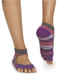 Gaiam Bella Socks - Purple
