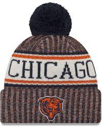 d7ca7223f5d Lyst - KTZ Nfl Chicago Bears Stock Cuff Knit Beanie in Blue for Men