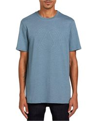 Volcom Off Pin Short Sleeve T-shirt - Blue