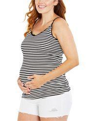 Jessica Simpson Maternity Denim Shorts - White
