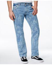 LRG - Men's Big & Tall Rc True Tapered-fit Liquid Indigo Wash Jeans - Lyst