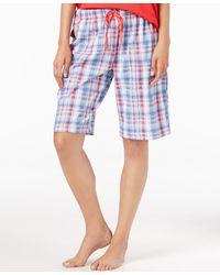 Karen Neuburger - Bermuda Pajama Shorts - Lyst