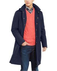 Tommy Hilfiger Modern-fit Albany Raincoat - Blue