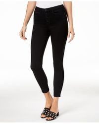 Maison Jules - Button-fly Skinny Jeans, Created For Macy's - Lyst