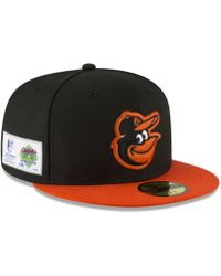 pretty nice c17c7 423f6 KTZ - Baltimore Orioles Jersey Custom 59fifty Fitted Cap - Lyst