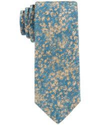 Con.struct - Con.struct Men's Floral-camo Slim Tie - Lyst