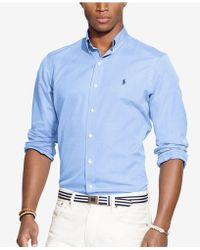 Polo Ralph Lauren - End-on-end Poplin Shirt - Lyst