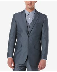 Perry Ellis - Men's Slim-fit Chambray Sport Coat - Lyst