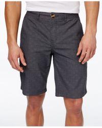 Ezekiel - Men's Gridlock Shorts - Lyst