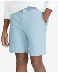 "Polo Ralph Lauren - Classic-fit 9-1/4"" Chambray Shorts - Lyst"