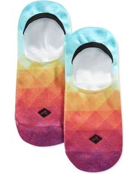 Sperry Top-Sider - Men's Sunset Tiles Printed Liner Socks - Lyst