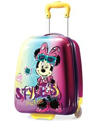"""Disney - Minnie Mouse 18"""" Hardside Rolling Suitcase By American Tourister - Lyst"""