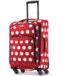"""Disney - Minnie Mouse Polka Dot 21"""" Spinner Suitcase By American Tourister - Lyst"""