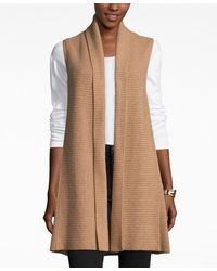 Charter Club Cashmere Sweater Vest, Only At Macy's - Brown