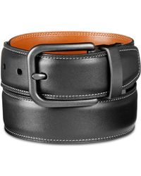 Original Penguin - Reversible Leather Belt - Lyst