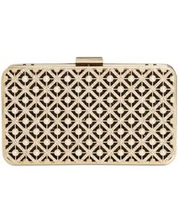 INC International Concepts Inc Tess Pearl Sparkle Box Clutch, Created For Macy's - Black