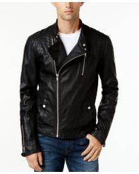 William Rast Men's Jax Moto Jacket - Black