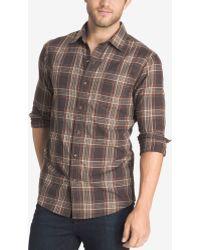 G.H.BASS - Men's Corded Poplin Shirt - Lyst