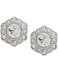Givenchy - Crystal Stud Earrings - Lyst