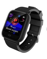 Body Glove Mako 3.2 Smart Watch With Heart Rate Monitoring - Black