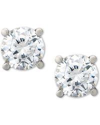 Macy's - Certified Diamond Stud Earrings (1/2 Ct. T.w.) In Platinum - Lyst