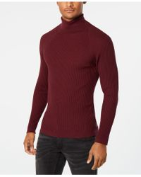 INC International Concepts - Ribbed Turtleneck Jumper, Created For Macy's - Lyst