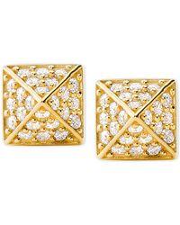 Michael Kors - Pyramid Stud Earrings - Lyst