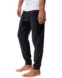 Cotton On Organic Jersey Sleep Pants - Black