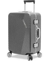 """Andiamo - Elagante 20"""" Hardside Carry-on Suitcase - Lyst"""