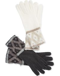 Charter Club - Fair Isle Chenille Gloves - Lyst