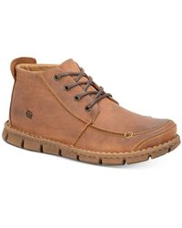 Born - Men's Neuman Moc-toe Boots - Lyst
