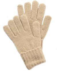 Style & Co. Rib Solid Gloves With Lurex, Created For Macy's - Natural