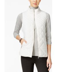 G.H. Bass & Co. - Packable Puffer Vest - Lyst