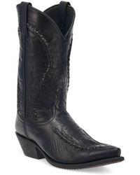 Laredo Laramie Mid-calf Boot - Black