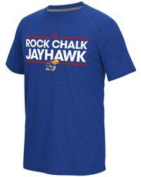 adidas - Men's Kansas Jayhawks Dassler Local T-shirt - Lyst