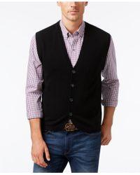 Cutter & Buck - Men's Bosque Sweater-vest - Lyst