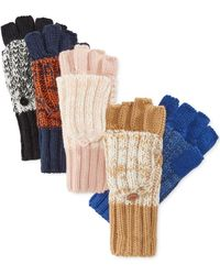 Rampage - Marled Flip-top Gloves, Only At Macy's - Lyst