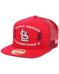 premium selection f2f89 063f2 KTZ St. Louis Cardinals Cooperstown 2-Tone 59Fifty Cap in Blue for Men -  Lyst