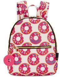 Macy's Printed Mini Backpack - Red