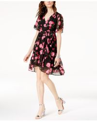 INC International Concepts - I.n.c. Petite Floral-print Faux-wrap Dress, Created For Macy's - Lyst
