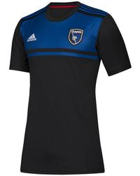 adidas - San Jose Earthquakes Primary Replica Jersey - Lyst