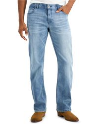 INC International Concepts Rockford Boot Cut Jeans, Created For Macy's - Blue