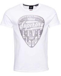 Superdry T-shirt - White
