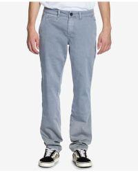 Ezekiel - Mens Slim-fit Stretch Jeans - Lyst