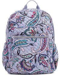 Vera Bradley Campus Tech Backpack - Blue