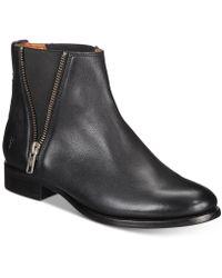 Frye - Carly Zip Chelsea Boots - Lyst