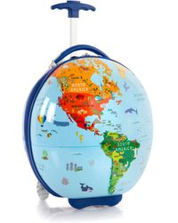 Heys Journey Maps Circle Shape Luggage - Blue