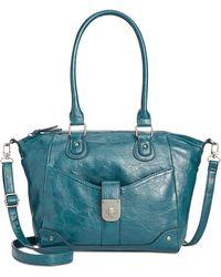 Style & Co. | Twist Lock Small Satchel | Lyst